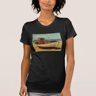 Denmark Fishing Boat T Shirt