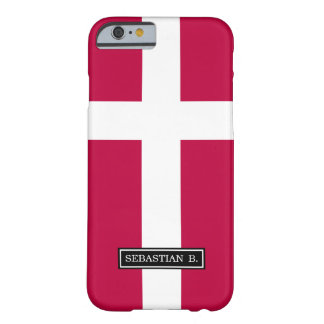 Denmark Flag Barely There iPhone 6 Case