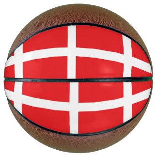 Denmark Flag Basketball