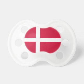 Denmark Flag Booginhead Pacifier