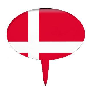 Denmark Flag Cake Toppers