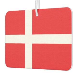 Denmark Flag Car Air Freshener