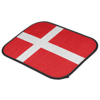 DENMARK FLAG CAR FLOOR MAT