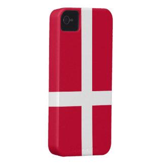 Denmark Flag iPhone 4 Covers