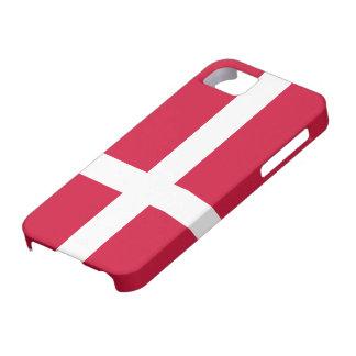 Denmark Flag iPhone 5 Cases