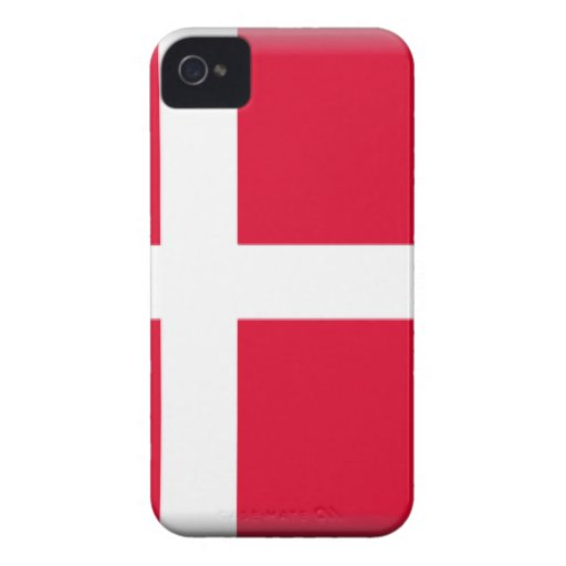 Denmark Flag Case-Mate iPhone 4 Cases
