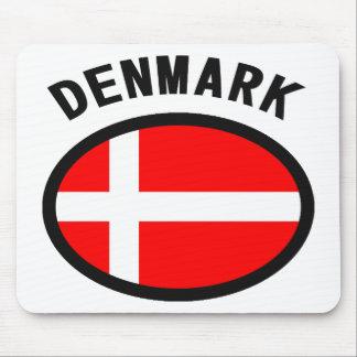 Denmark Flag Cool Design! Mouse Pad
