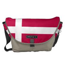 Denmark Flag Courier Bag