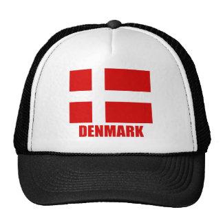denmark_flag_denmark10x10 trucker hat