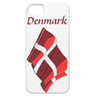 Denmark Flag Design iPhone 5 Case