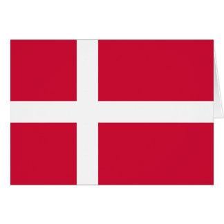 Denmark Flag DK Card