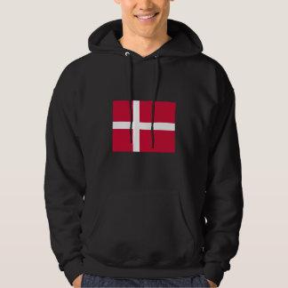 Denmark Flag DK Hoodie