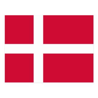 Denmark Flag DK Post Cards