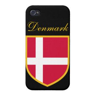 Denmark Flag iPhone 4/4S Cases