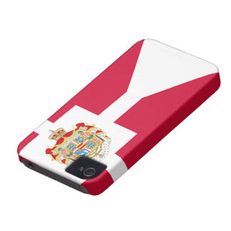 Denmark Flag iPhone 4 Case