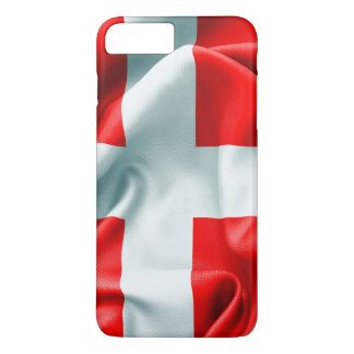Denmark Flag iPhone 7 Plus Case