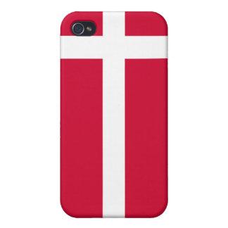 Denmark Flag iPhone iPhone 4/4S Case