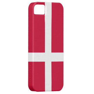 Denmark Flag iPhone SE/5/5s Case