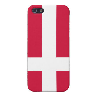 Denmark Flag iPhone SE/5/5s Cover