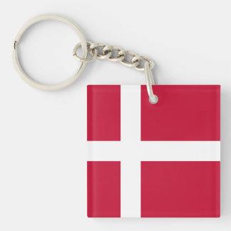 Denmark Flag Keychain