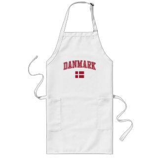 Denmark + Flag Long Apron