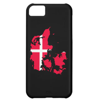 denmark flag map cover for iPhone 5C