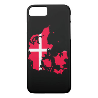 denmark flag map iPhone 7 case