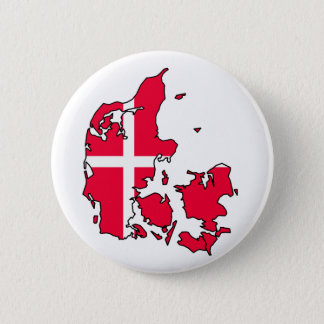 denmark flag map pinback button