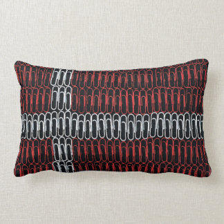 Denmark Flag of Paperclips Pillow