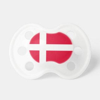 Denmark Flag Pacifier