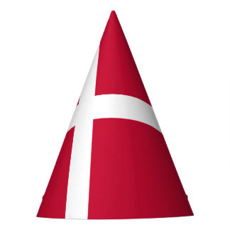 Denmark Flag Party Hat