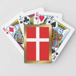 Denmark Flag Playing Cards