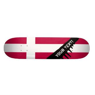 Denmark Flag Skateboard Deck