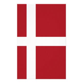 Denmark flag stationery