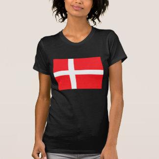 Denmark Flag T Shirt
