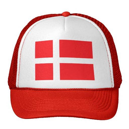Denmark Flag Trucker Hats