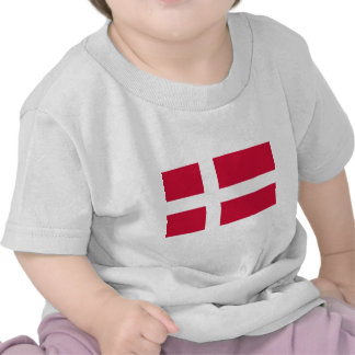 Denmark Flag Tee Shirt
