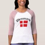 Denmark Flag w/Inscription Dresses