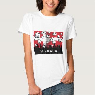 Denmark Football Tee Shirt