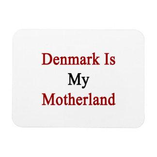 Denmark Is My Motherland Rectangular Photo Magnet
