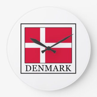 Denmark Large Clock