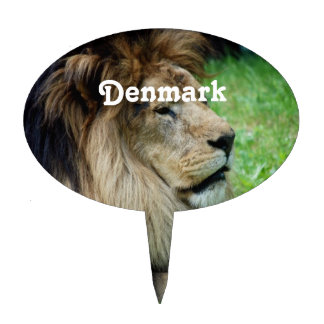 Denmark Lion Cake Picks