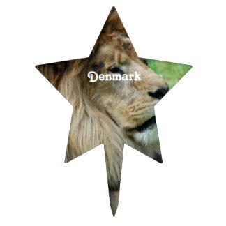 Denmark Lion Cake Pick