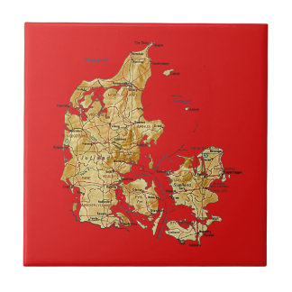 Denmark Map Tile