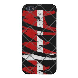 Denmark  MMA black iPhone 4 case