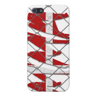 Denmark  MMA white iPhone 4 case
