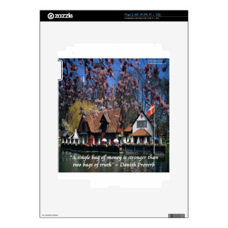 Denmark Photo & Famous Proverb Skin For iPad 2