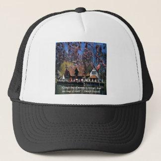 Denmark Photo & Famous Proverb Trucker Hat