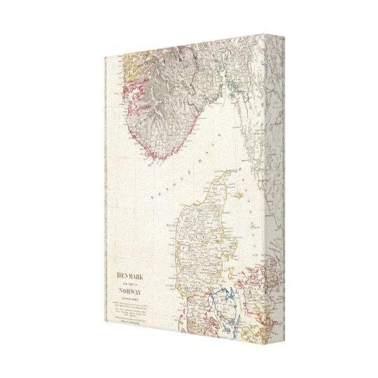 Denmark, pt of Norway Canvas Print
