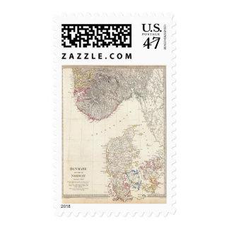 Denmark, pt of Norway Postage Stamp